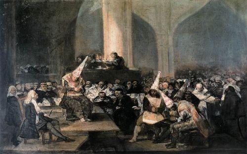 Tribunal of the Spanish Inquisition - Goya