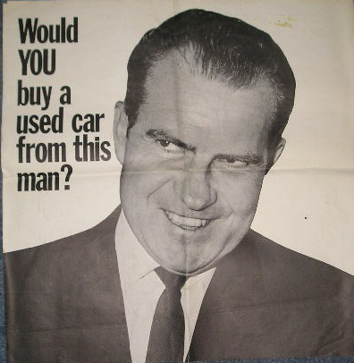 The Democratic attack poster from 1960