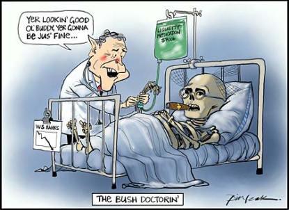 Bush-doctoring?