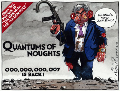 Peter Brookes - Times - 29 October