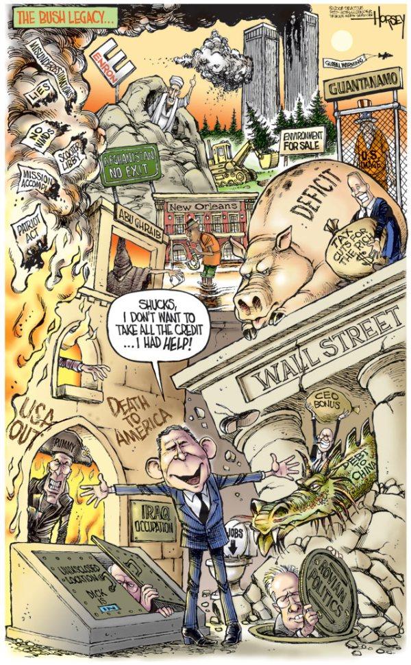 David Horsey - Seattle Post-Intelligencer 21 December