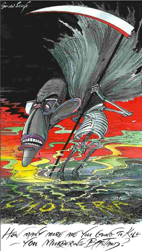 Gerald Scarfe - Sunday Times - 14 December 2008