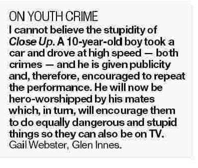 Letters to the Editor - NZ Herald - 30 January