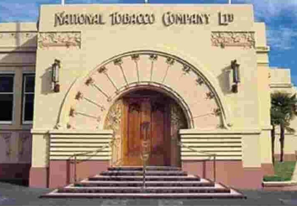 National Tobacco Company Building in Napier