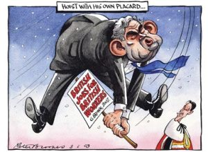 Peter Brookes - The Times - 3 February