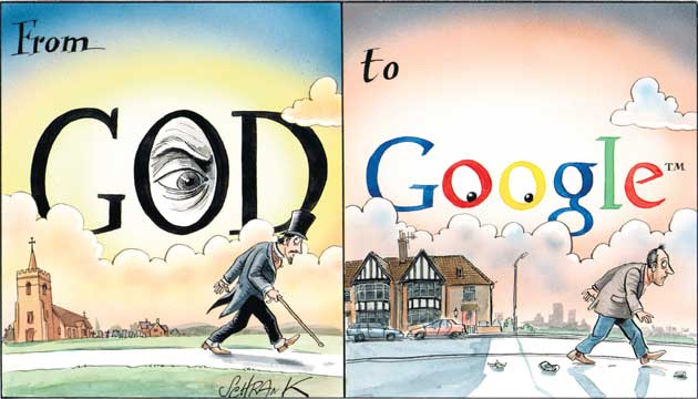 cartoon220309 152763a Digital thoughts From God to Google+