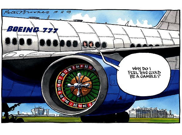 Peter Brookes - The Times - March 14