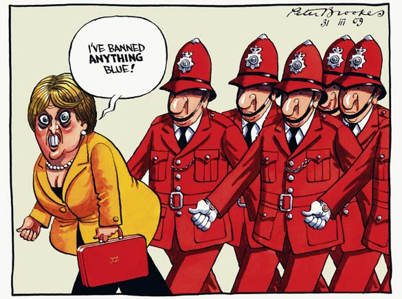 Peter Brookes - The Times - March 31