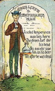 Australian temperance cartoon