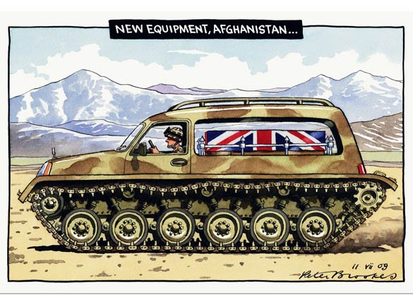 Peter Brookes - The Times - July 11