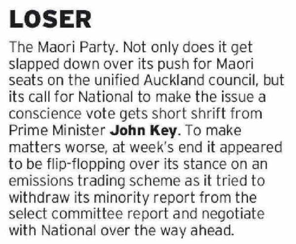Tracy Watkins - Dominion Post - August 29