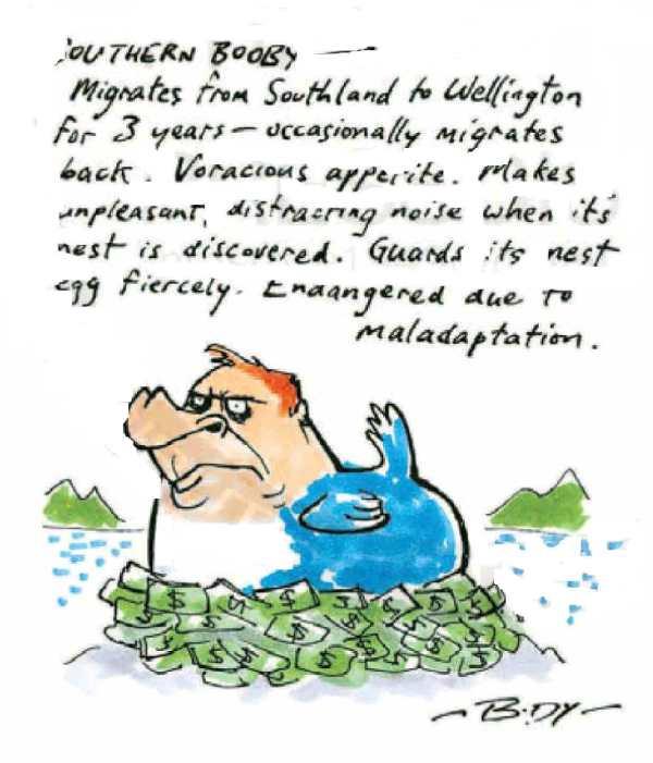 Guy Body - NZ Herald - 26 September