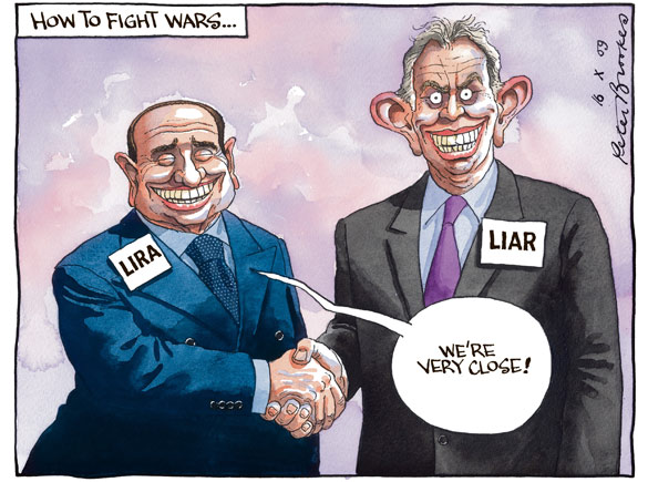 Peter Brookes - The Times - 16 October