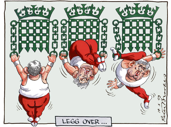 Peter Brookes - The Times - 14 October